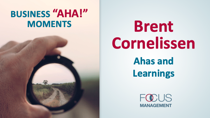 Brent Cornelissen Ahas and Learnings